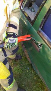 otwieranie zamka piła szablastą ratownictwo techniczne